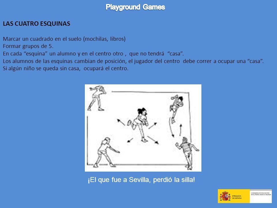3.GAMES TO REVIEW VOCABULARY El pañuelo Frente con frente ¿Qué ha desaparecido.