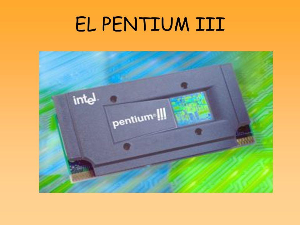 EL PENTIUM III