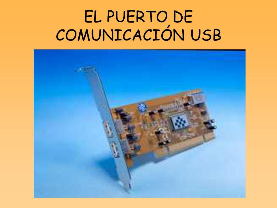 EL PUERTO DE COMUNICACIÓN USB