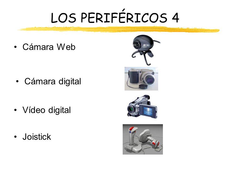 LOS PERIFÉRICOS 4 Cámara Web Cámara digital Vídeo digital Joistick