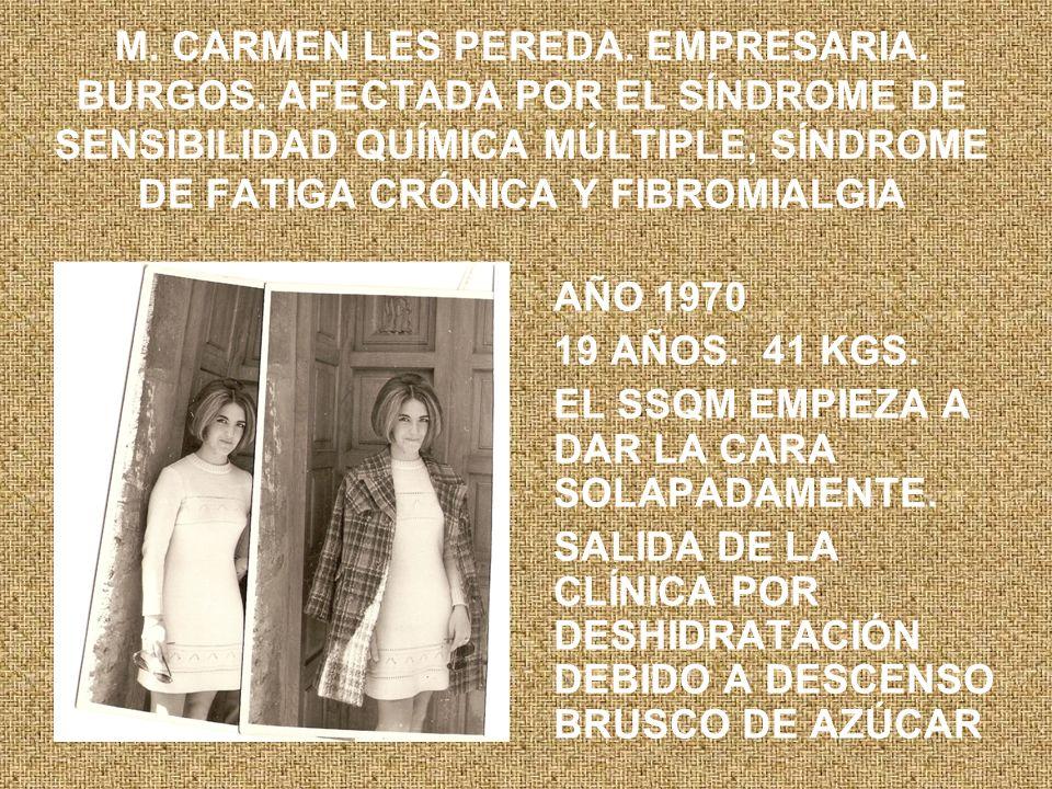 M.CARMEN LES PEREDA. EMPRESARIA. BURGOS.