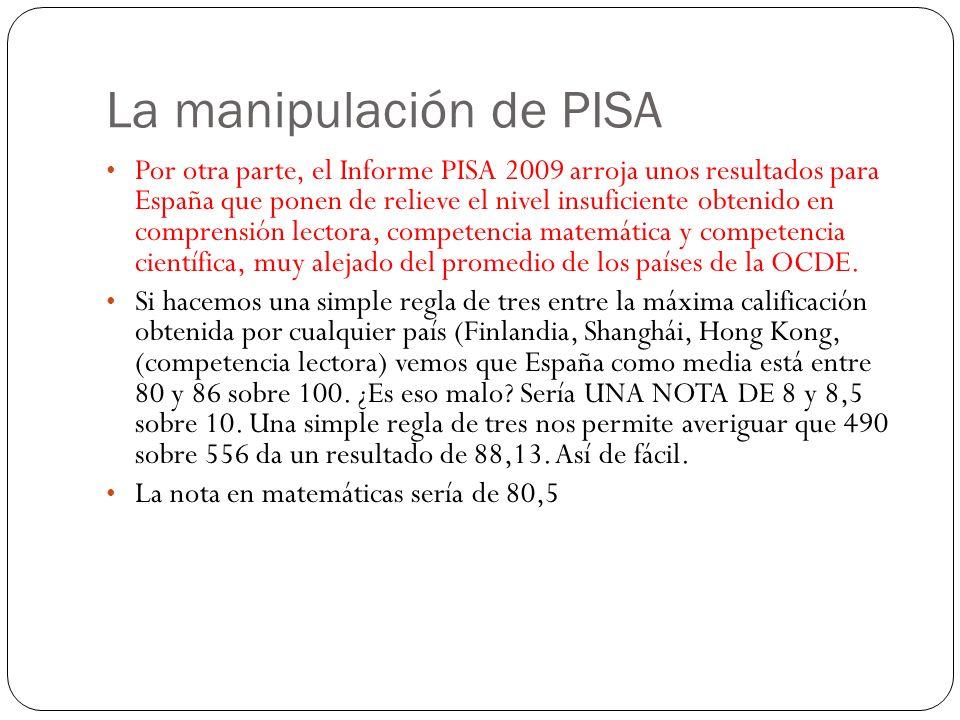 La manipulación de los datos ¿Qué se dice.