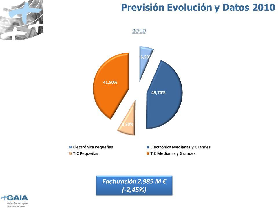 Previsión Evolución y Datos 2010