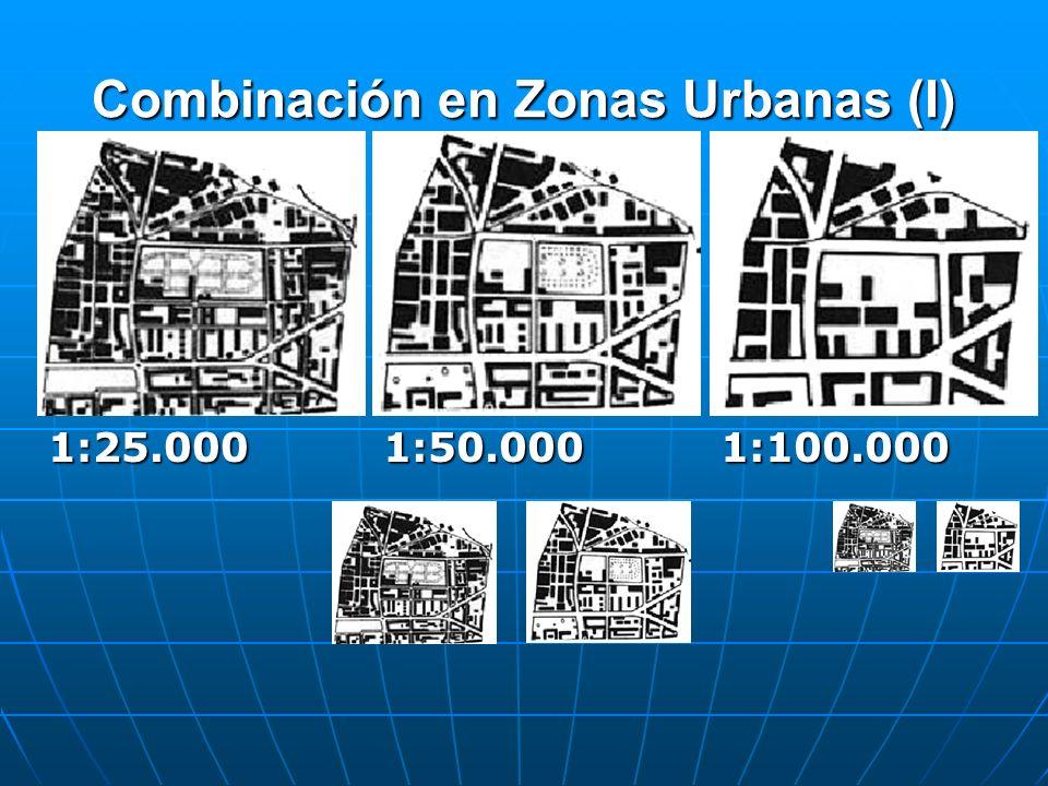 Combinación en Zonas Urbanas (I) 1:25.0001:50.0001:100.000