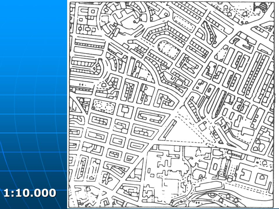 Proporciones incorrectas Árboles muy pequeños en comparación a las casas.