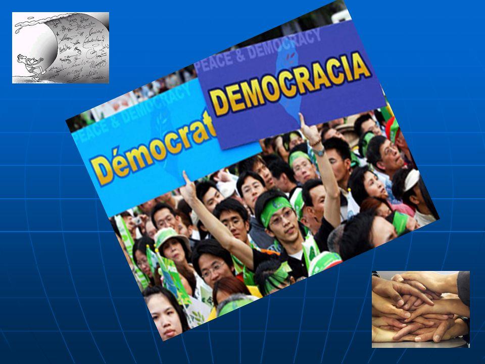 La importancia de la democracia Si no hay comida cuando se tiene hambre, si no hay medicamentos cuando se está enfermo, si hay ignorancia y no se respetan los derechos elementales de las personas, la democracia es una cáscara vacía, aunque los ciudadanos voten y tengan Parlamento.