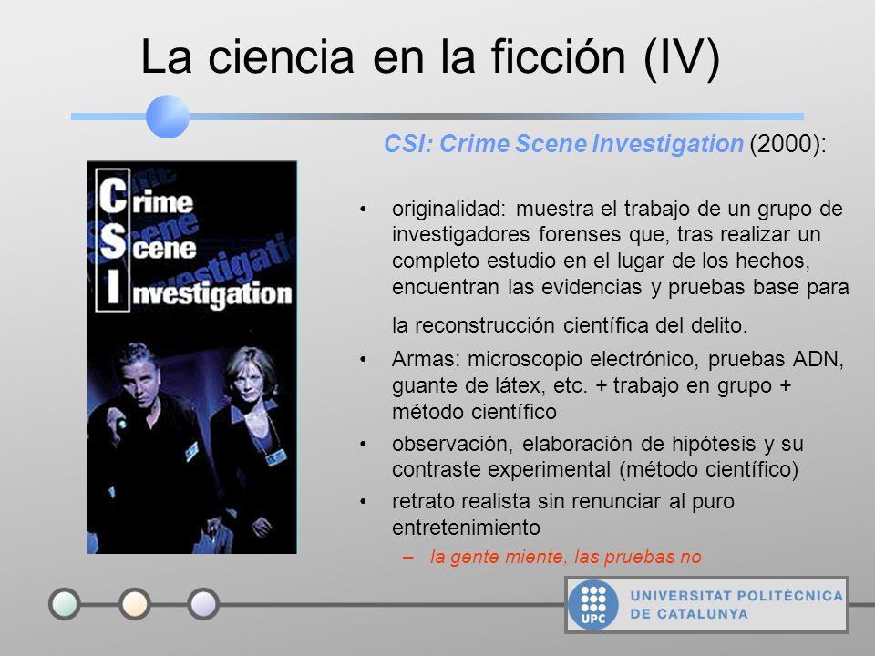 La ciencia en la ficción (III) nFox Mulder: creyente oficial abierto siempre a la posibilidad de que las fuerzas paranormales expliquen los fenómenos
