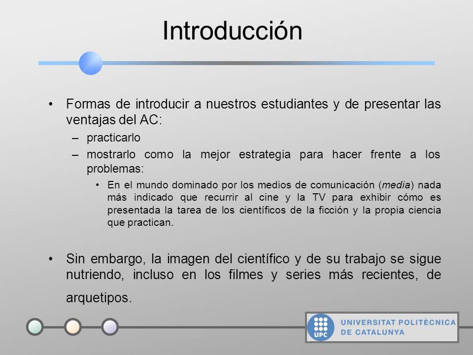 Cómo una serie de TV de moda puede ayudar a mostrar las ventajas del trabajo cooperativo Tercera Jornada sobre Aprendizaje Cooperativo JAC 2003 Manuel
