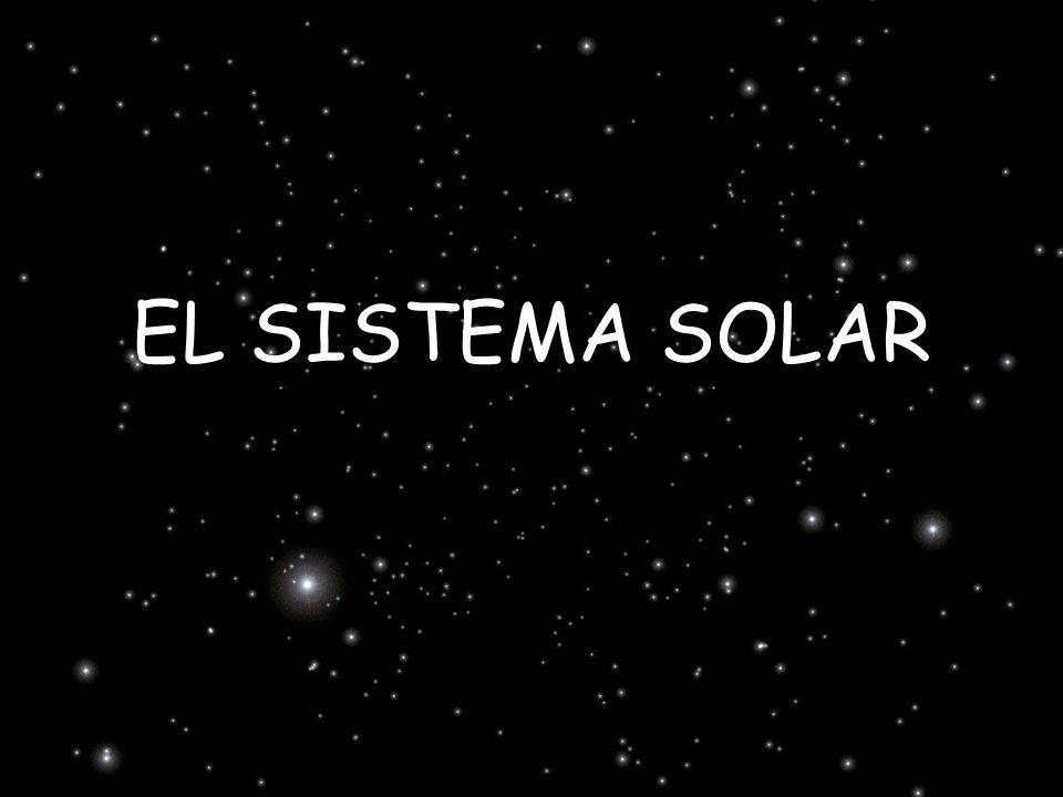 El Sistema Solar está compuesto por el Sol y todos los cuerpos que orbitan alrededor de él: nueve planetas y sus lunas, los asteroides, los cometas y los meteoritos.