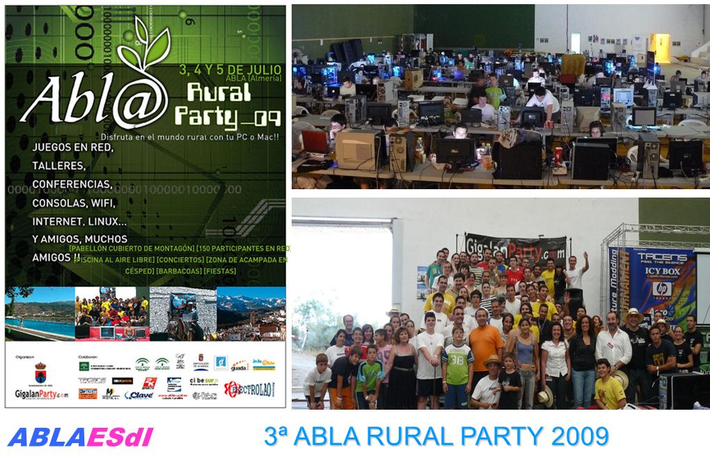 3ª ABLA RURAL PARTY 2009 ABLAESdI