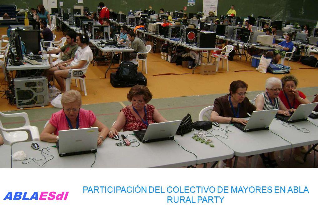 PARTICIPACIÓN DEL COLECTIVO DE MAYORES EN ABLA RURAL PARTY ABLAESdI