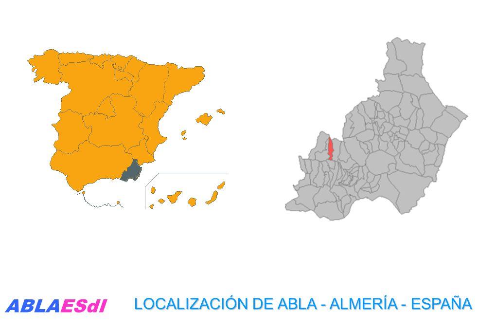 LOCALIZACIÓN DE ABLA - ALMERÍA - ESPAÑA ABLAESdI