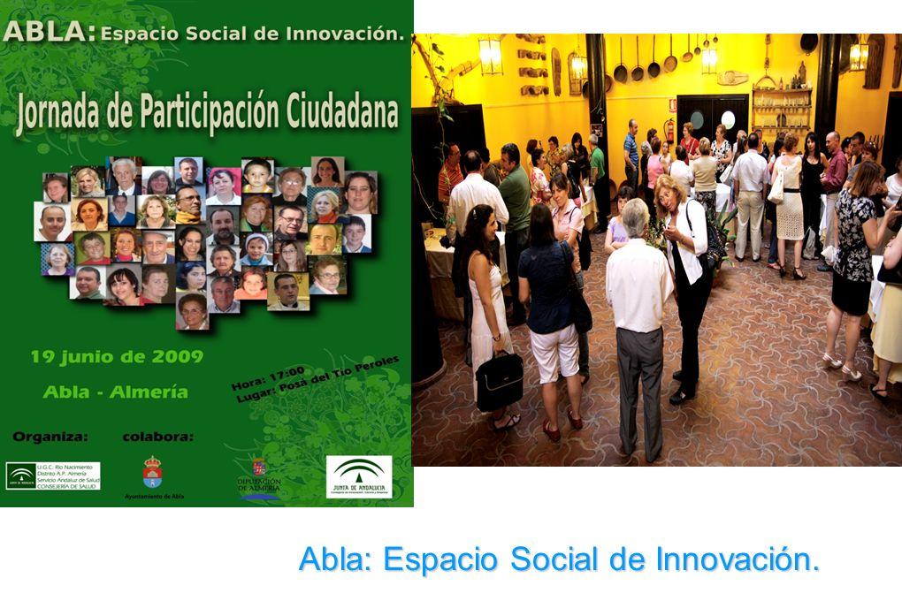Abla: Espacio Social de Innovación.