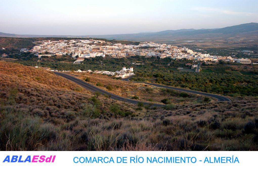 COMARCA DE RÍO NACIMIENTO - ALMERÍA ABLAESdI