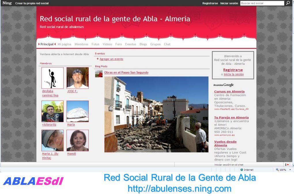 Abla presenta la Fundación Rural Lab en FICODER. Sevilla 8-10 de junio 2009.