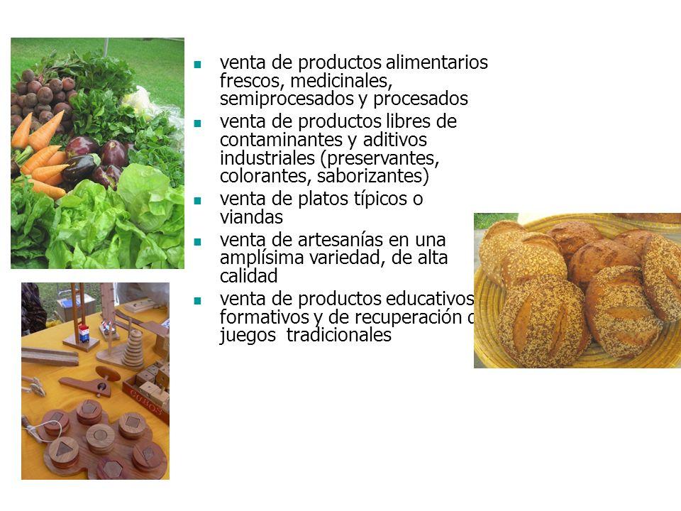 BioFeria... qué promueve? espacio amplio, ambientado y tranquilo, que permite la comunicación entre productores y consumidores oportunidad de desarrol