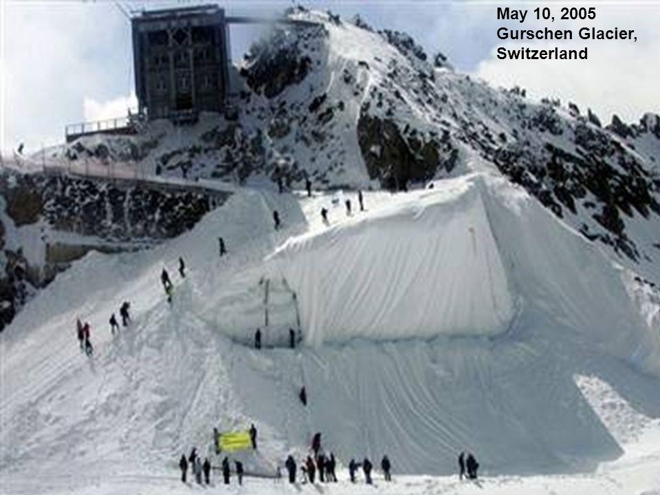 May 10, 2005 Gurschen Glacier, Switzerland