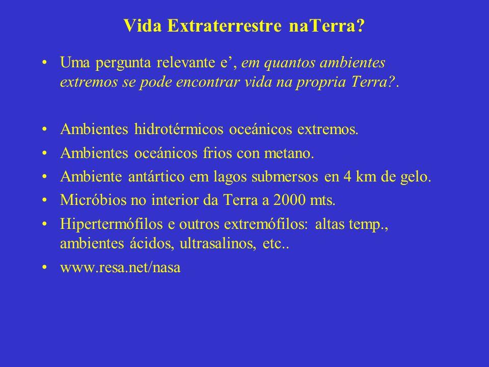 Vida Extraterrestre naTerra.