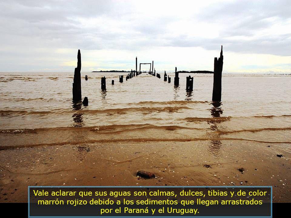 El Río de la Plata proporciona paisajes y playas bellísimas ubicadas en sus márgenes