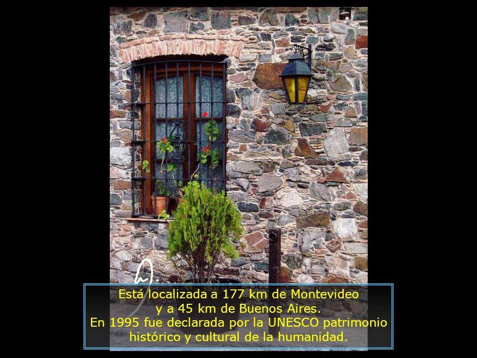 Colonia del Sacramento es una pequeña ciudad de Uruguay, es la capital del departamento de Colonia. Fue fundada en 1680 por el portugués Manuel Lobo.