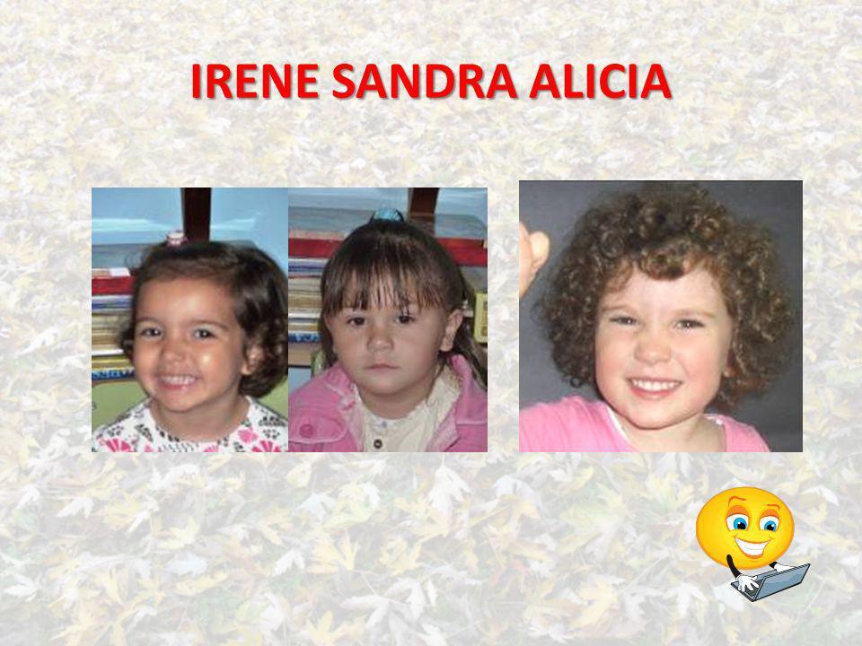 IRENE SANDRA ALICIA
