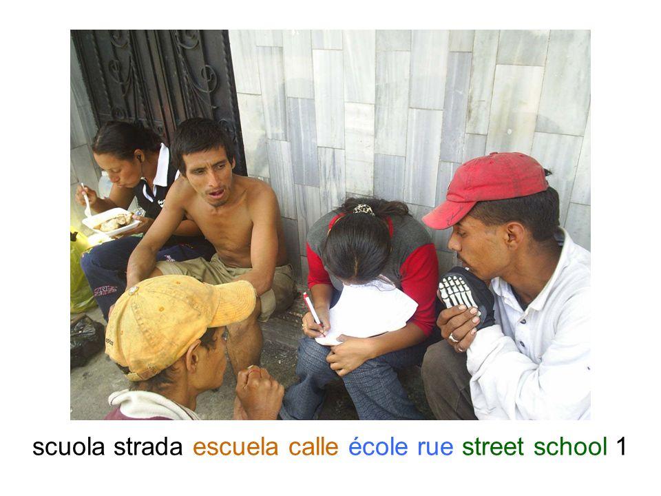 scuola strada escuela calle école rue street school 1