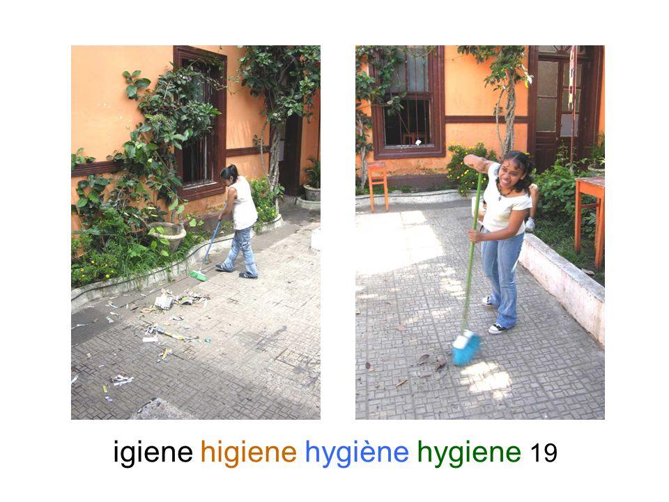 igiene higiene hygiène hygiene 19
