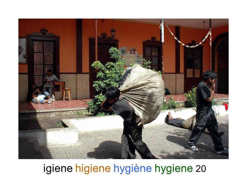 igiene higiene hygiène hygiene 20