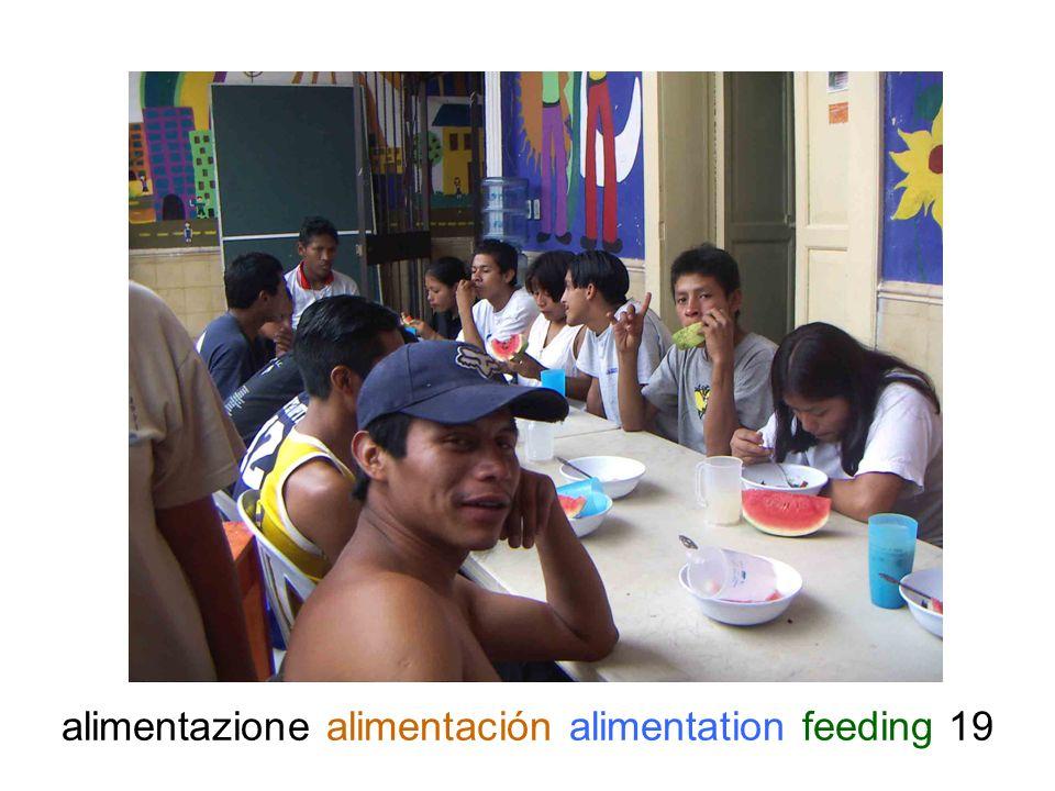 alimentazione alimentación alimentation feeding 19