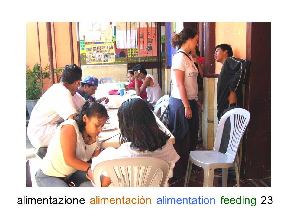 alimentazione alimentación alimentation feeding 23