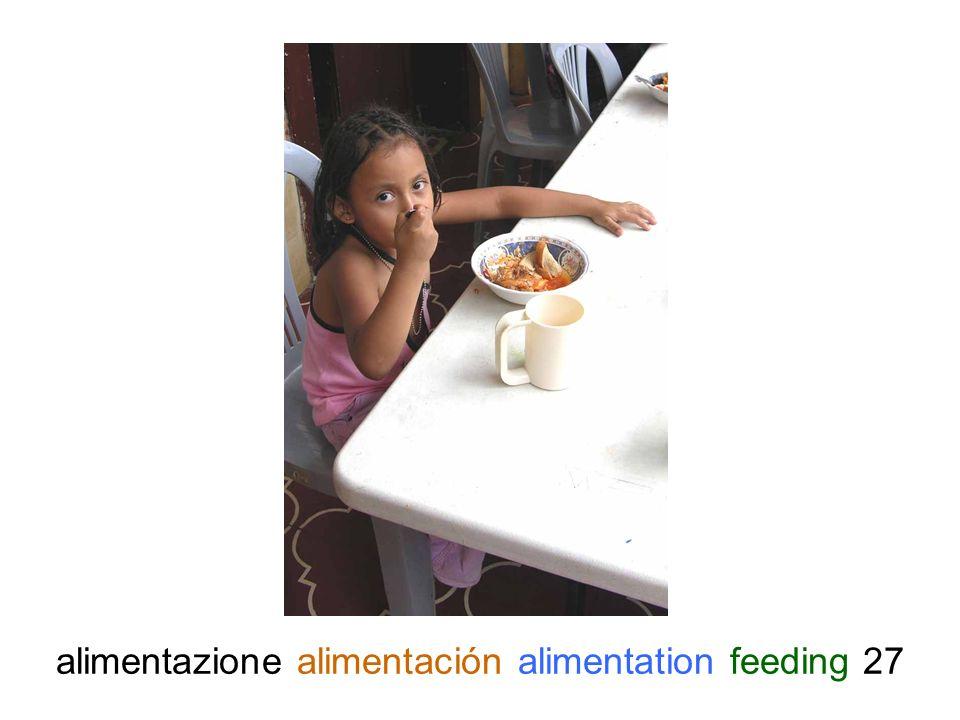 alimentazione alimentación alimentation feeding 27