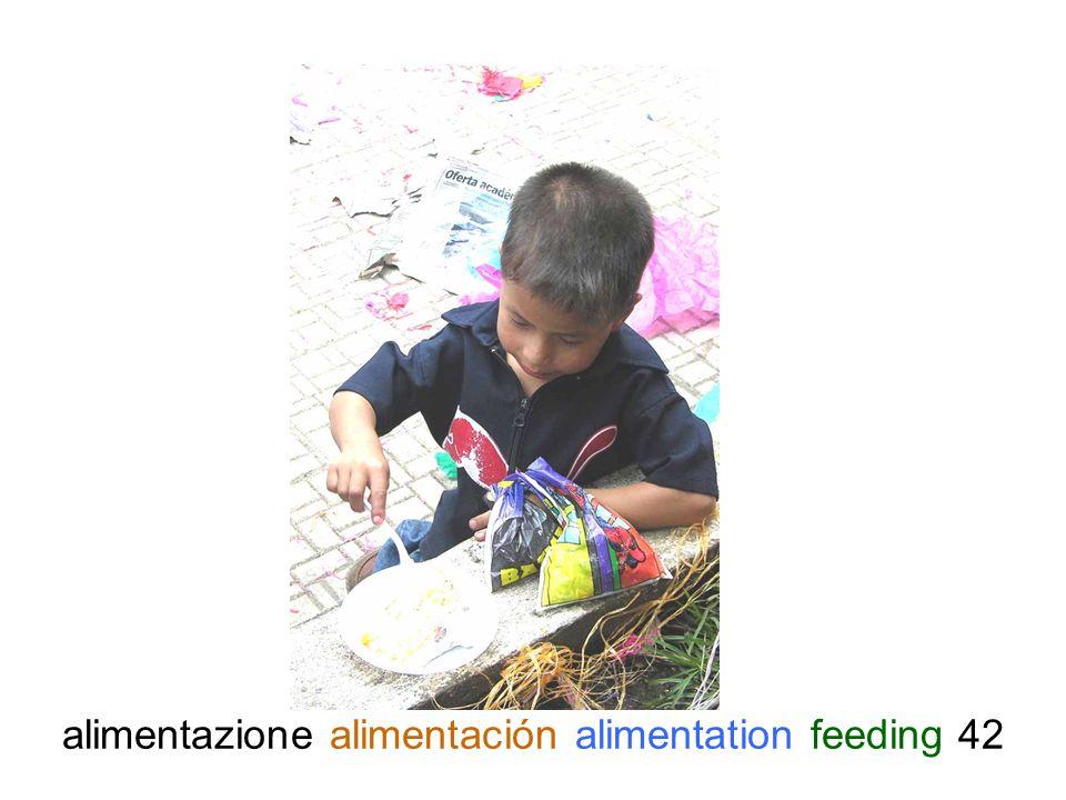 alimentazione alimentación alimentation feeding 42