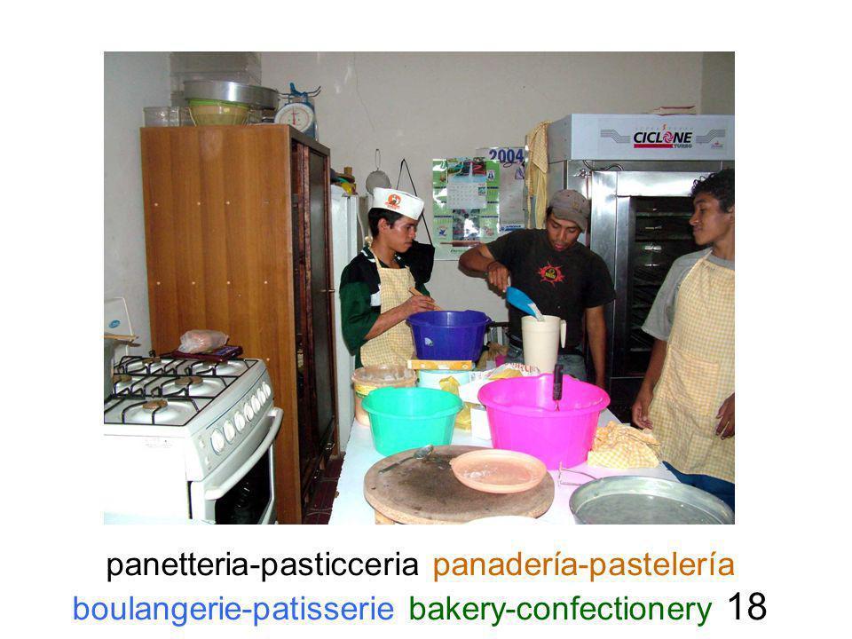 panetteria-pasticceria panadería-pastelería boulangerie-patisserie bakery-confectionery 18