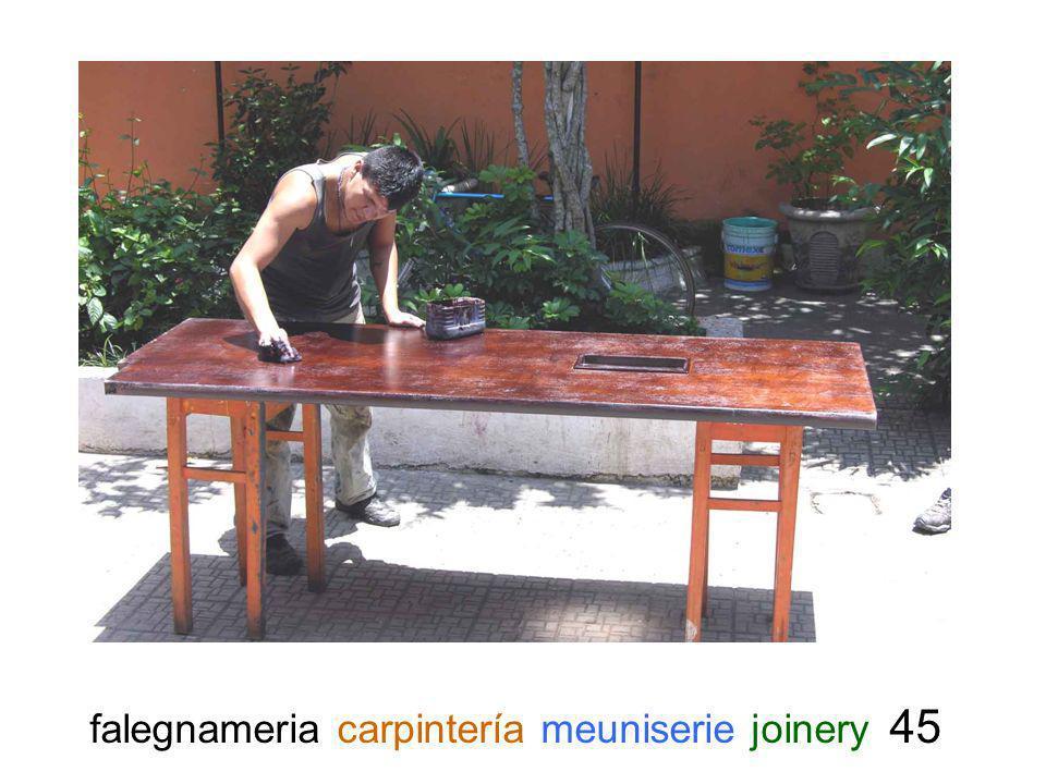 falegnameria carpintería meuniserie joinery 45