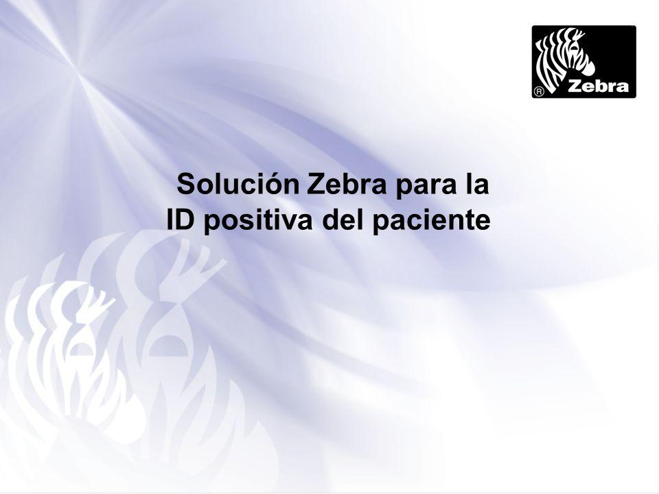 Solución Zebra para la ID positiva del paciente