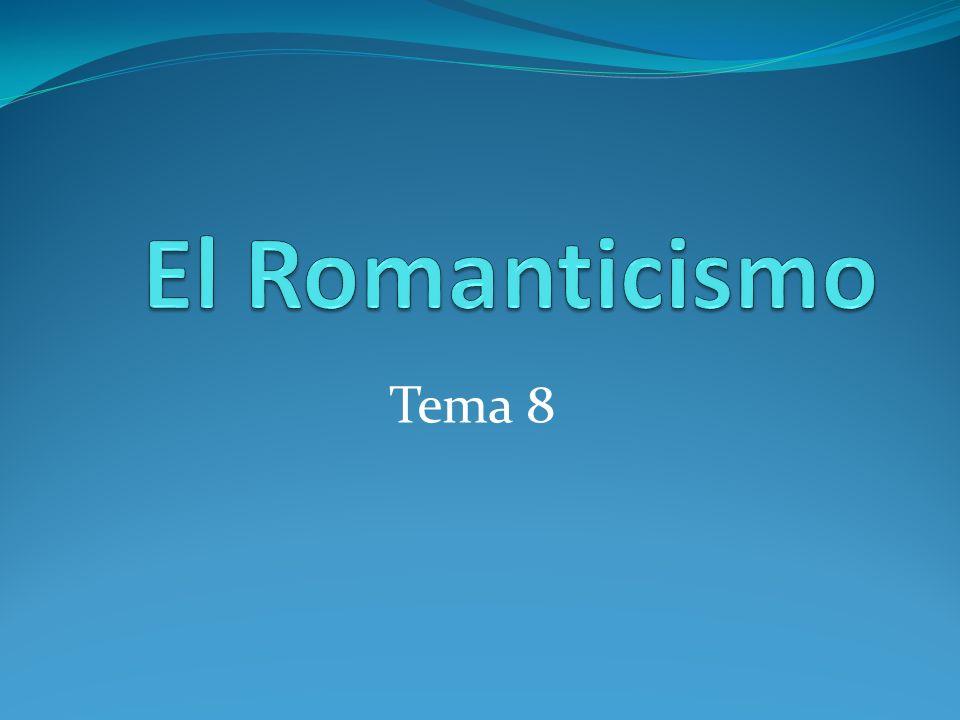 La lírica romántica D.