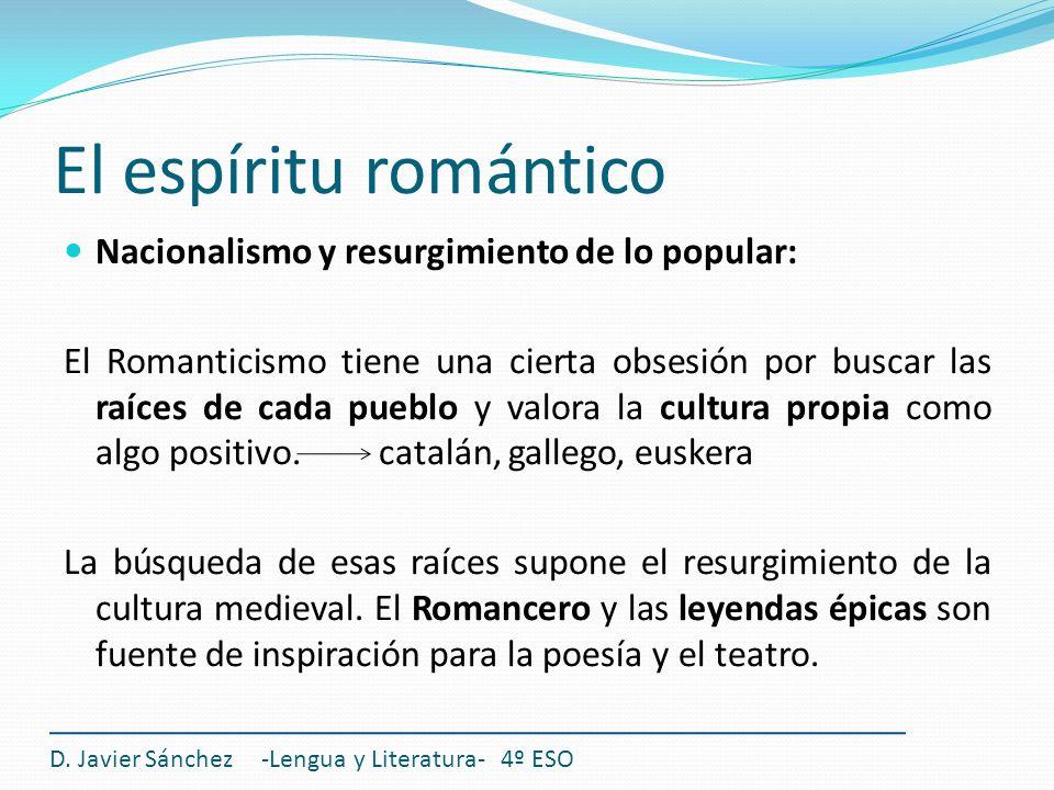 El espíritu romántico D.