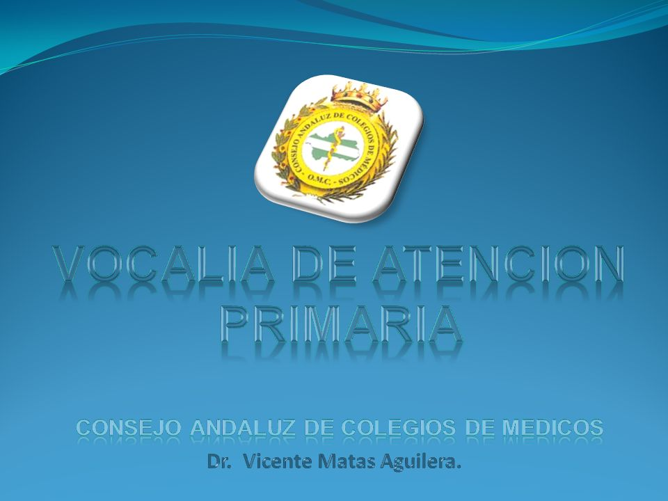 Vicente Matas Aguilera.Vocal de Atención Primaria.