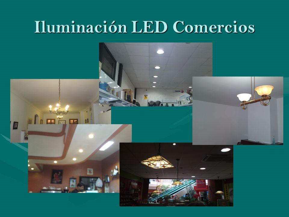 Iluminación LED Comercios