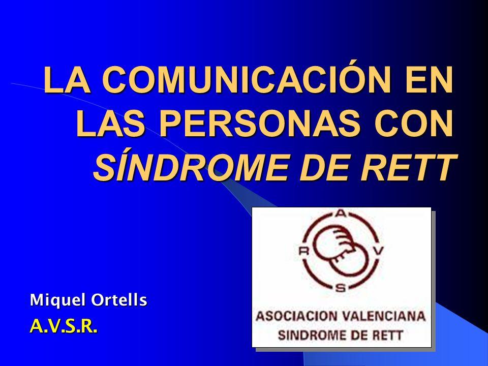 OBJETIVOS DE ESTA EXPOSICIÓN Aclarar: de qué hablamos cuando hablamos deCOMUNICACIÓN Aclarar: de qué hablamos cuando hablamos deCOMUNICACIÓN Definir: problemas comunicativos y dificultades que detectamos en el Síndrome de Rett Definir: problemas comunicativos y dificultades que detectamos en el Síndrome de Rett Proponer: enfoques de tratamiento: técnicas, estrategias, consejos,...