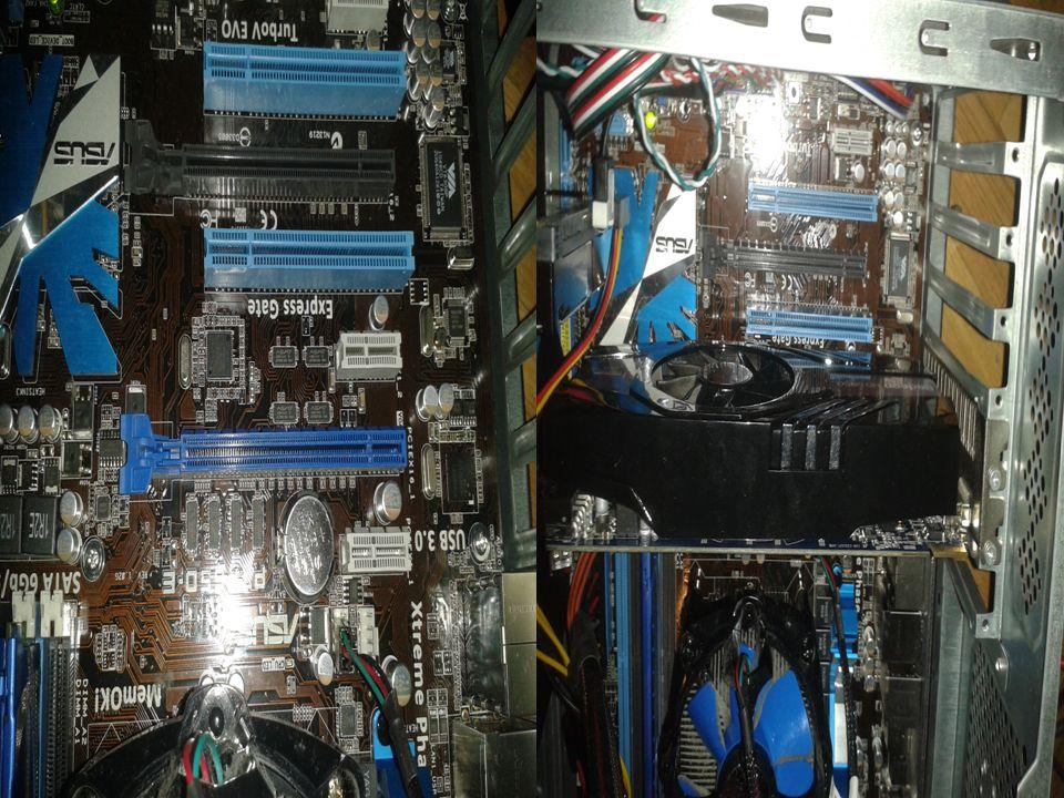 -Dispositivos refrigerantes Las tarjetas gráficas pueden alcanzar fácilmente temperaturas de hasta 100º si no son refrigeradas correctamente.