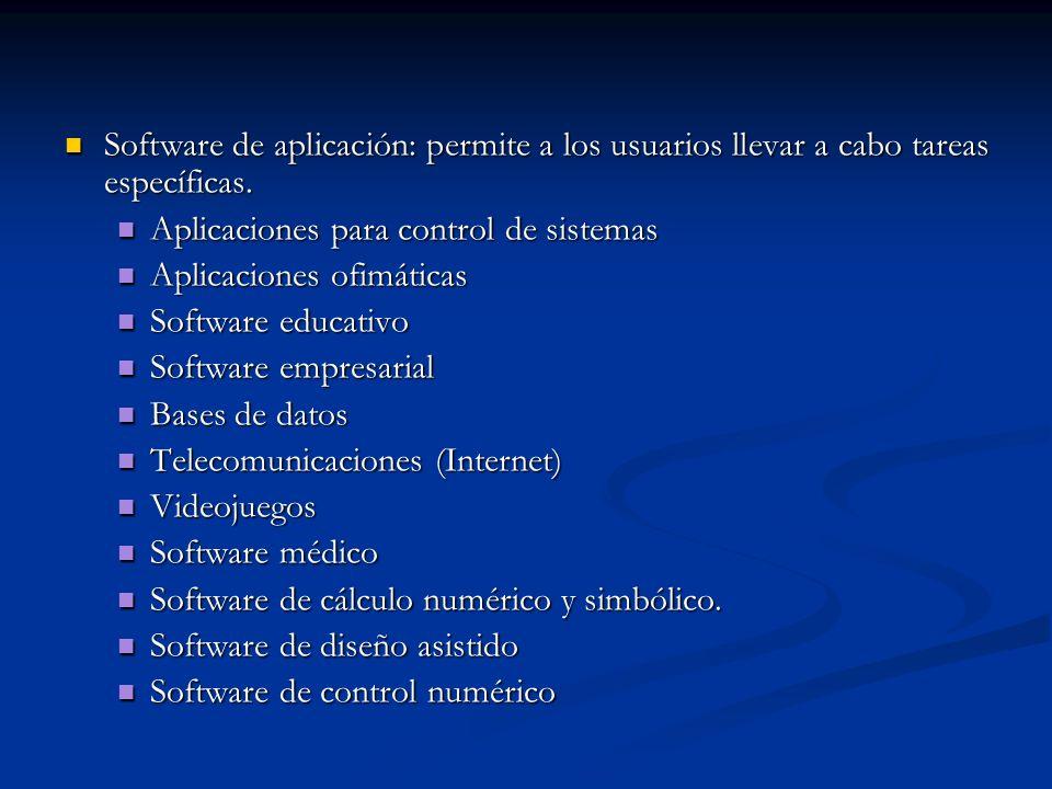 Proceso de creación del software Este proceso puede llegar a ser muy complejo ( desde un sistema operativo a un simple programa).