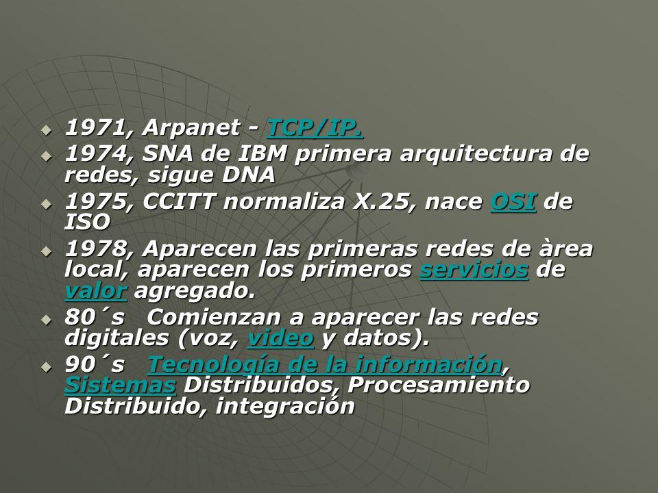 Hay muchas diferentes maneras de organizar los componentes de telecomunicaciones para formar una red y, por tanto, hay múltiples maneras de clasificar las redes.