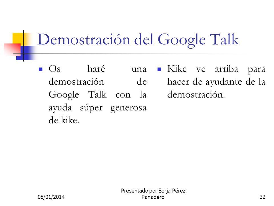 05/01/2014 Presentado por Borja Pérez Panadero31 Google imágenes Google Imágenes es una especialización del buscador principal para imágenes. Se puede