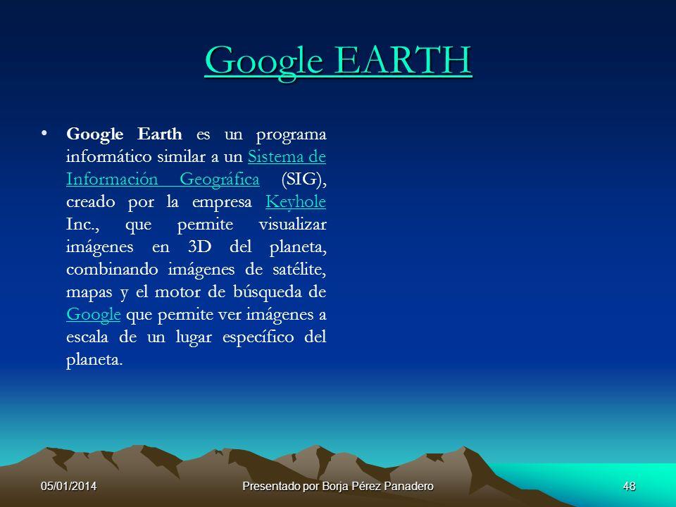 05/01/2014Presentado por Borja Pérez Panadero47 Google Mail o Gmail, Google, Yahoo y Yahoo Mail Se como ir al correo electrónico de Google o mas común
