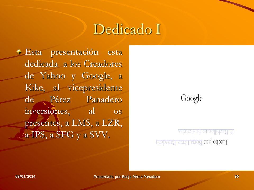 05/01/2014 Presentado por Borja Pérez Panadero 55 Acuerdo de yahoo!-Google II Según lo que Google y yahoo! Dijeron el jueves 12 de junio de 2008, habí