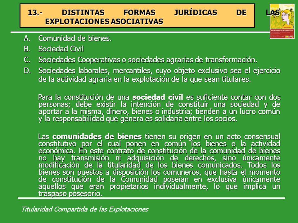 Titularidad Compartida de las Explotaciones 14.-ÁMBITO AUTONÓMICO.