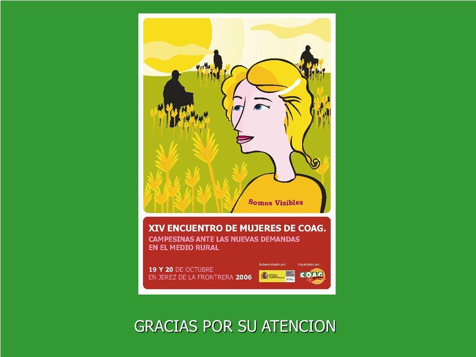 Titularidad Compartida de las Explotaciones GRACIAS POR SU ATENCION