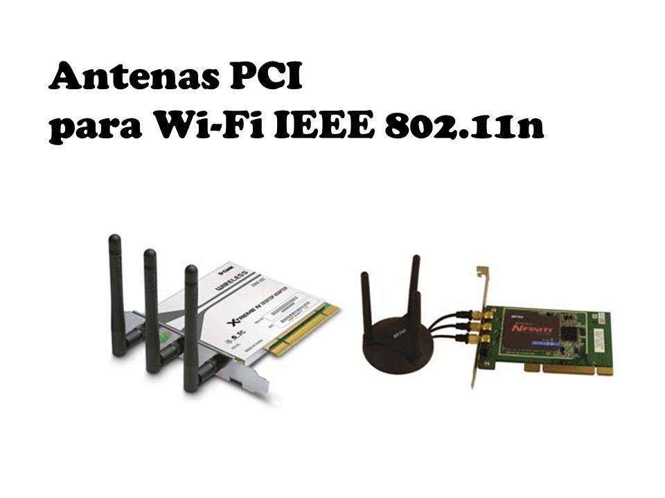 Antenas PCI para Wi-Fi IEEE 802.11n