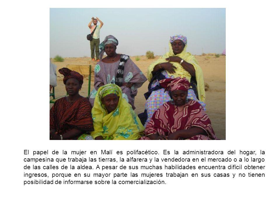 El papel de la mujer en Malí es polifacético.